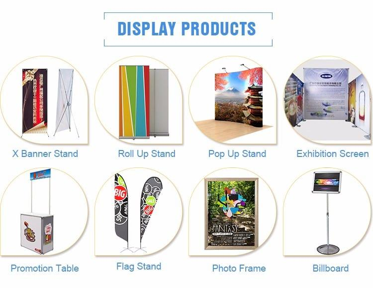 Advertising printing materials and display products supplier