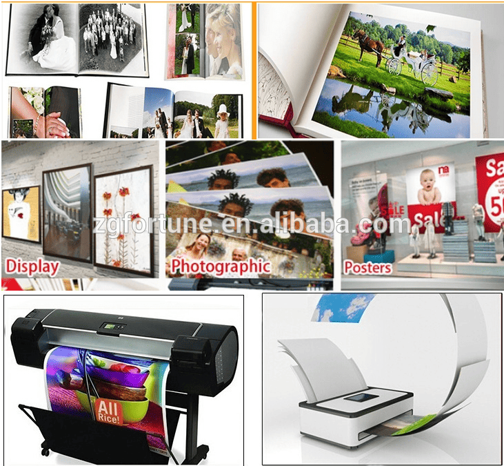 factory supplier high Glossy Photo Paper for inkjet printer
