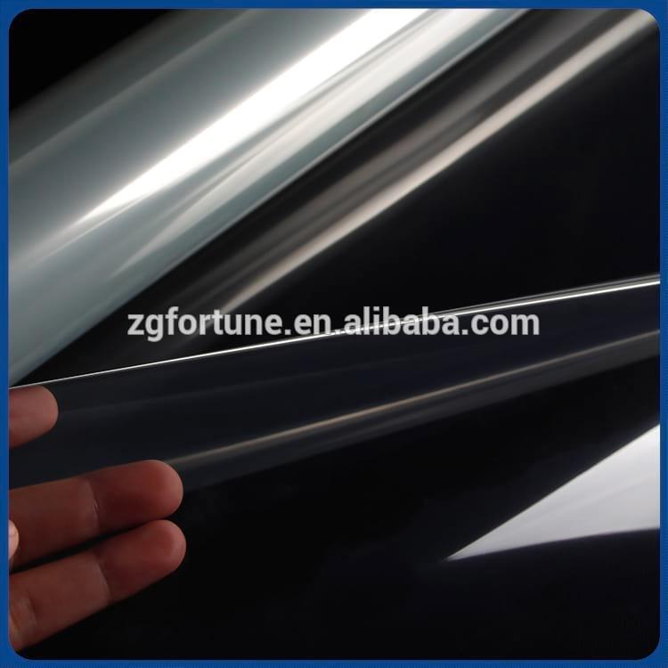 Guangzhou Free Delivery Eco sovlent Printing Transparent PET Film 120um 160g