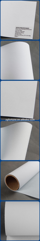 Free Sample Water base Matte waterproof canvas fabric Digital printed Polyester Canvas