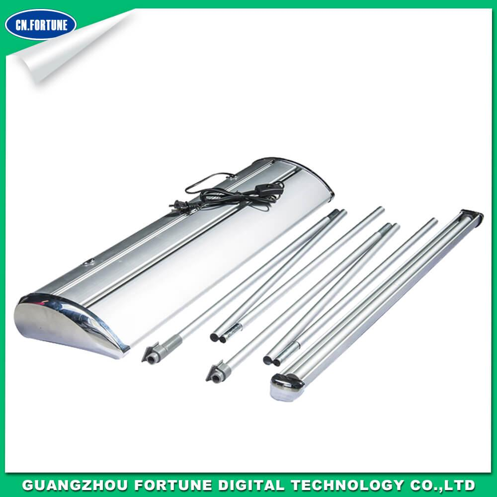 vertical electric aluminum roll up stand