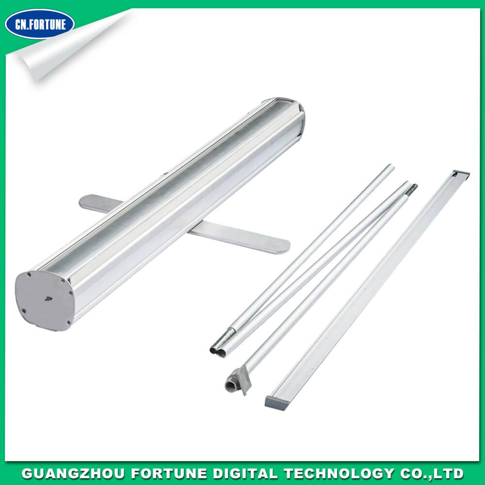 single foot aluminum roll up stand
