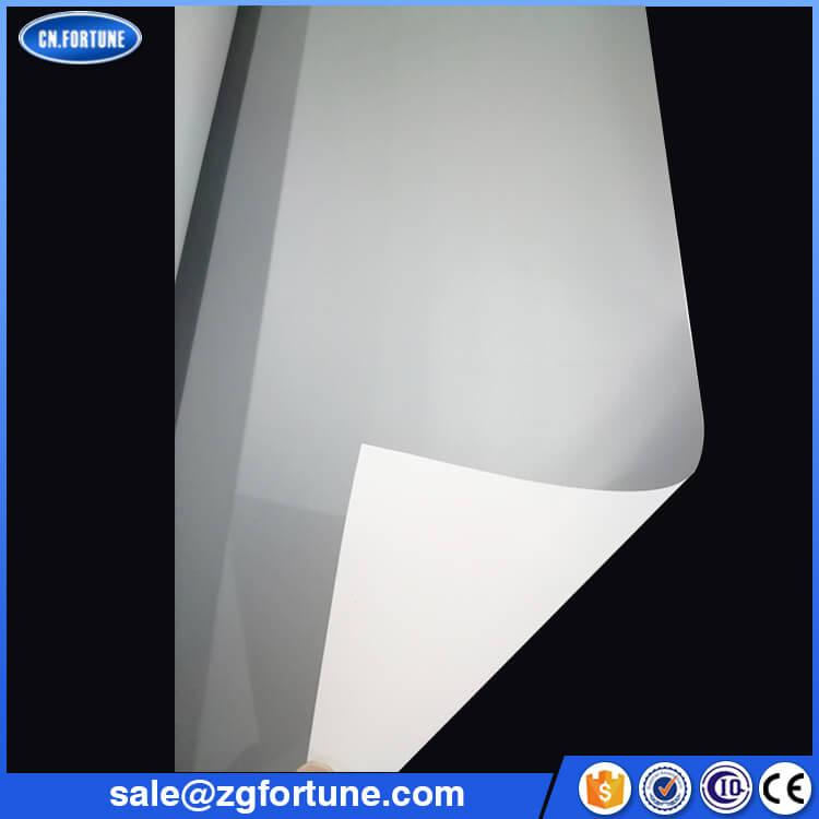 Grey Back PVC Film