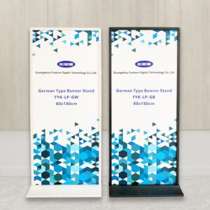 Economic Display Large Stand Standing Banner Size German Type Banner Stand