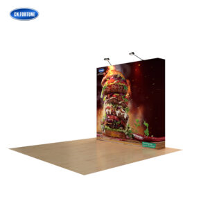 Wholesale Custom Trade Show Pop Up Backdrop Display Stand For Advertising Display